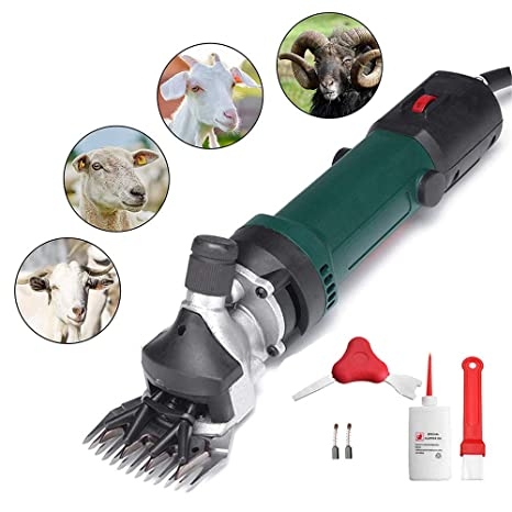 Proffesional 690w Sheep Goat Clipper Kit Electric Shearing Machine 110V BE