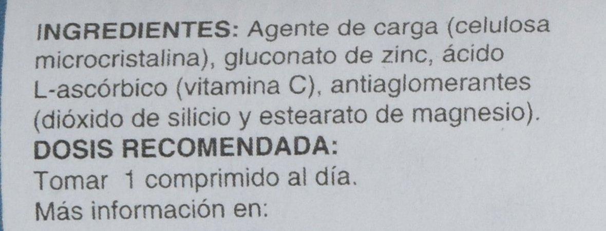 Vegunn - Zinc + Vitamina C, 30 Comprimidos: Amazon.es: Salud y cuidado personal