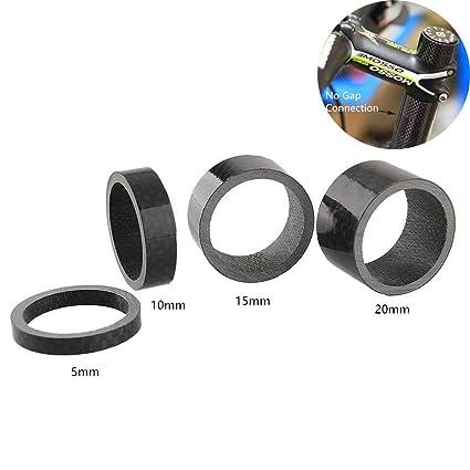 GKONGU Auriculares Espaciadores, 4 Piezas Fibra de Carbono ...