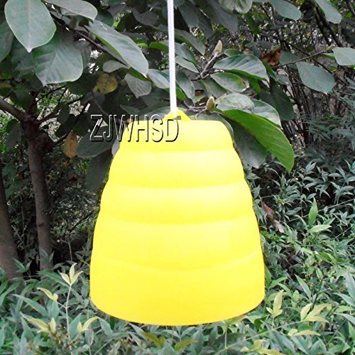Yellow Jacket Beehive Shaped Wasp Hornet Fly Insect Trap Bee