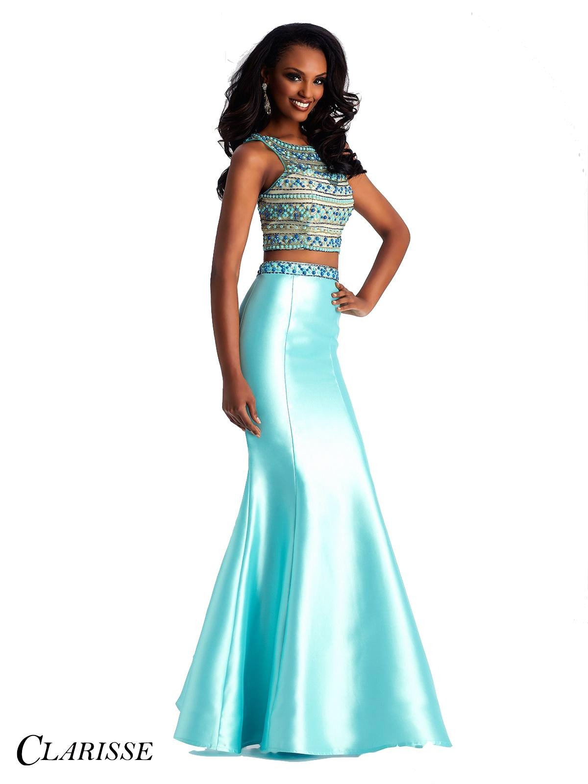 Clarisse style # 3071 two piece dress