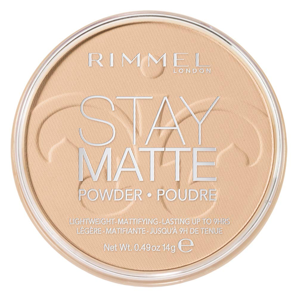 Rimmel Stay Matte Pressed Powder, Creamy Natural, 0.49 Ounce (1 Count)