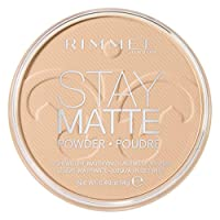 Rimmel Stay Matte Pressed Powder, Creamy Natural, 0.49 Ounce (Pack of 1)