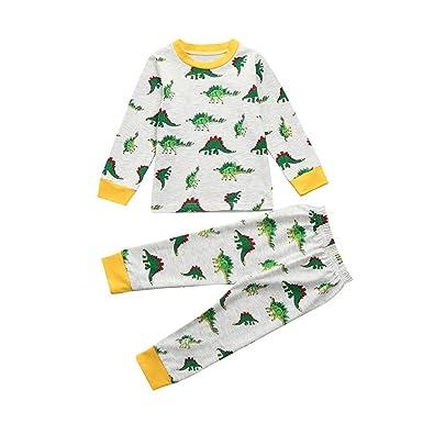 10302efef Amazon.com  Kintaz Little Boy Girls  Pajamas Sets Toddler Penguin ...