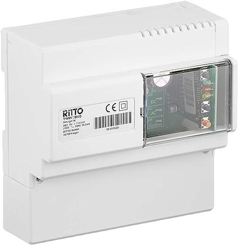 Ritto 5300//03 Zentralverstärker 530003 Netzgerät Trafo Verstärker 12VA geb.