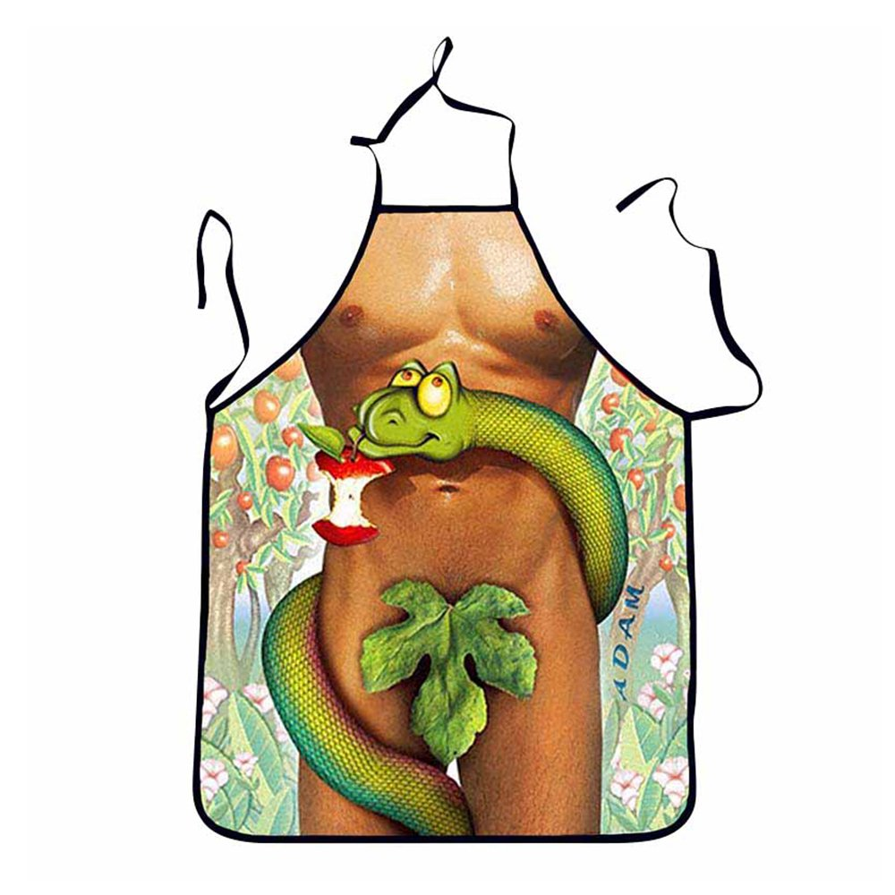Baking and cooking for men and women Funny kitchen apron for BBQ