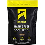 Ascent Native Fuel Whey Protein Powder - Chocolate - 2 lbs