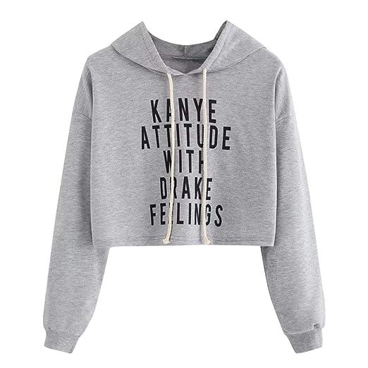 ANJUNIE tops Women Hoodie Sweatshirt, Long Sleeve Animal Print Casual Pullover at Amazon Womens Clothing store: