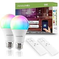 2-Pack Novostella Smart WiFi Light Bulb