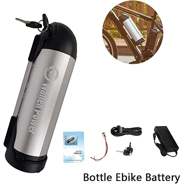 Charger BE 36V 10Ah Lithium E-Bike Bottle Battery Waterproof for Electric Bike