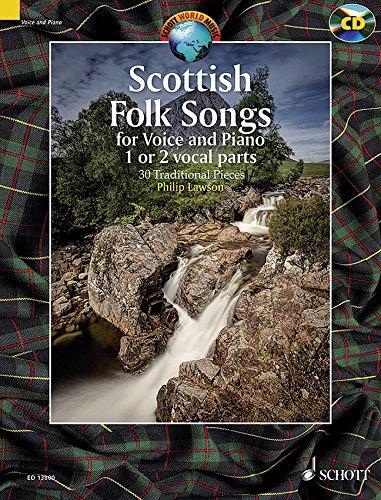 Scottish Folk Songs: 30 Traditional Pieces (Anglais) Broché – 1 janvier 2016 Philip Lawson Schott Music Ltd 1847614248 Folk style