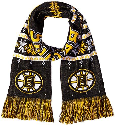 NHL Boston Bruins Light Up Scarf, One Size, (Boston Bruins Santa Hat)