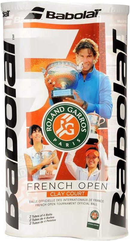 Babolat Tri-Pack French Open Tennisb/älle 3X 4er Dose Roland Garros