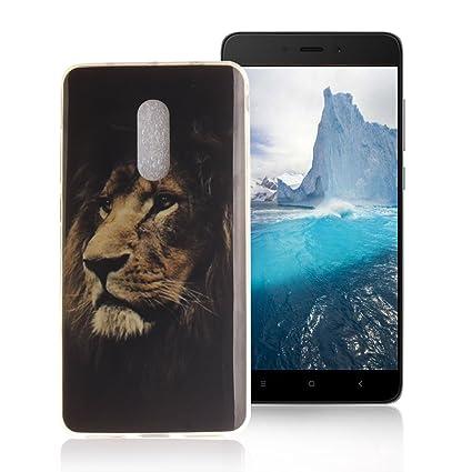 AllDo Funda Silicona para XiaoMi RedMi Note 4 Carcasa Protectora Caso Suave TPU Soft Silicone Case Cover Bumper Funda Ultra Delgado Carcasa Flexible ...
