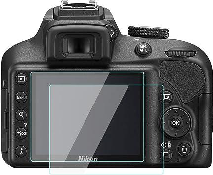 KOMET Nikon D3500 D3400 D3300 D3200 LCD Protector de ...
