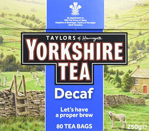 Yorkshire Tea Decaf, 80 Tea Bags