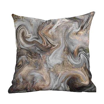 Amazon.com: Funda de almohada para sofá, mármol, piedra de ...