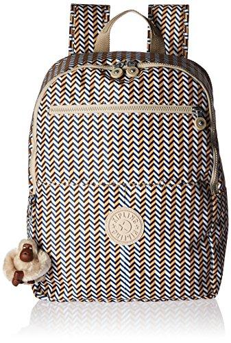 Kipling Women's Aideen Printed Backpack - Zest Yellow - O...
