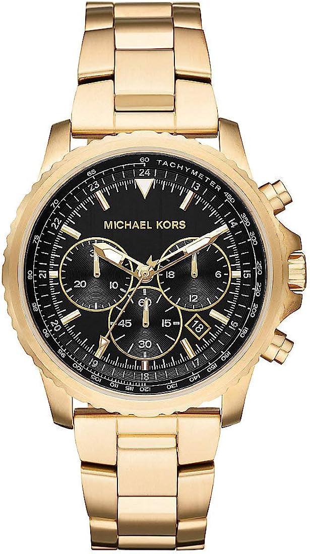 Michael Kors Reloj Cronógrafo para Hombre de Cuarzo con Correa en Acero Inoxidable