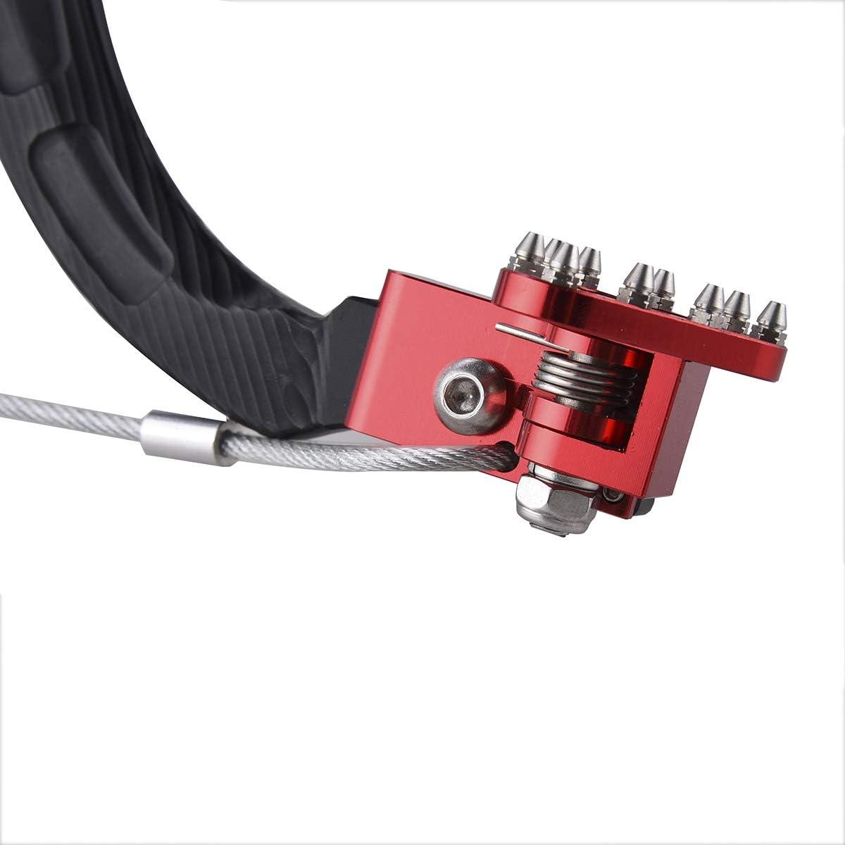Pro Braking PBK0979-YEL-RED Front//Rear Braided Brake Line Yellow Hose /& Stainless Red Banjos