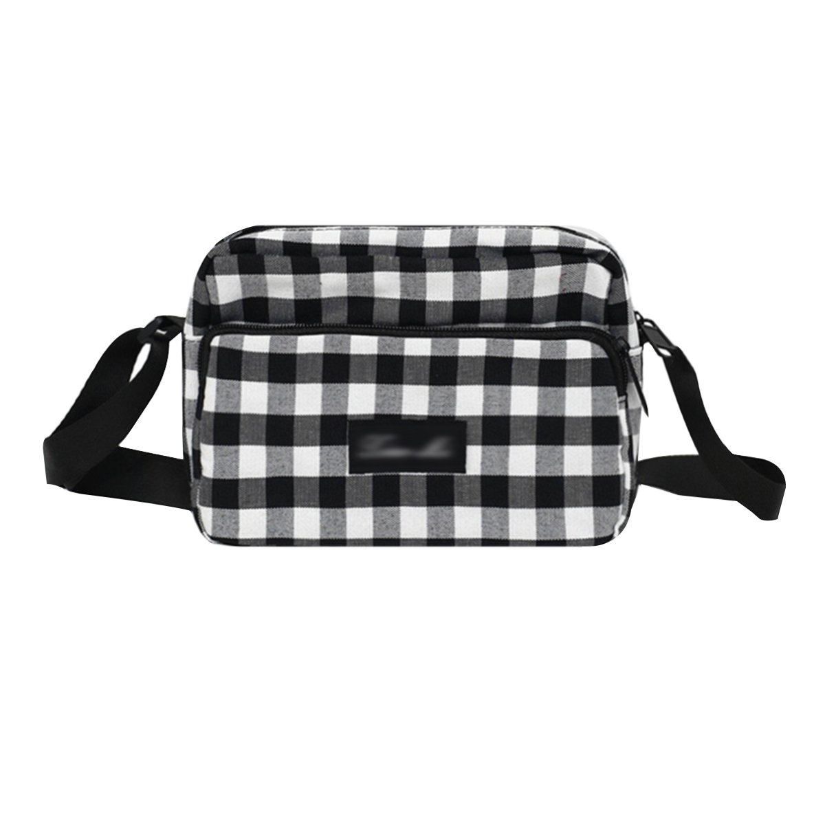 Heidi Bag Women Casual Cotton Plaid Checkered Gingham Crossbody Shoulder Bag