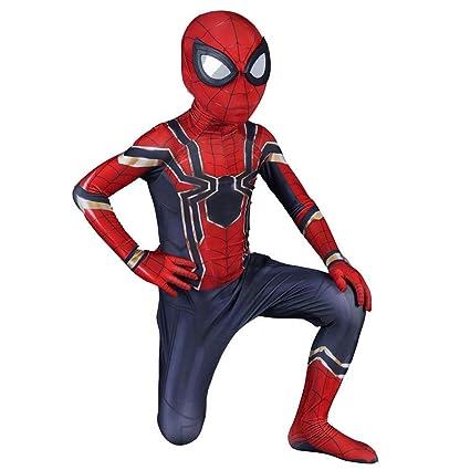 RNGNBKLS Disfraz De Spiderman Niño Adulto Halloween Cosplay ...