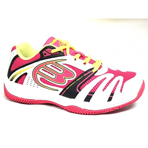 BULLPADEL BONSO BLANCO-FUCSIA - Color - Blanco, Talla - 41: Amazon.es: Zapatos y complementos