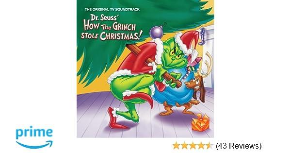 soundtrack dr seuss how the grinch stole christmas amazoncom music - How The Grinch Stole Christmas Tv Schedule