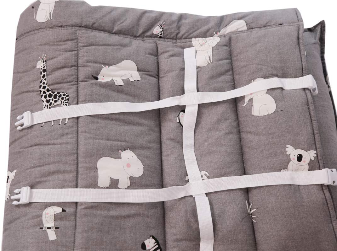 H.B.YE Sac de Couchage Coton+Velours Impression Oreille Nid d/'Ange pour Enfant b/éb/é en Bas /âge Sieste Maternelle pr/éscolaire Tapis Animal, 118 x 52 cm
