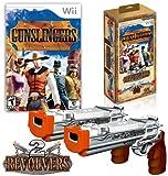 Gunslingers Bundle with 2 Revolver Guns - Nintendo Wii