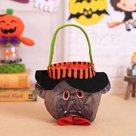 ypyrhh Fieltro Bolsas de Dulces de Halloween, Bruja de ...