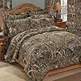Realtree MAX-5 Camouflage 7 Pc King Comforter Bedding Set - Includes: (1 King Comforter, 1 Flat Sheet, 1 Fitted Sheet, 2 Pillow Cases, 2 Shams)