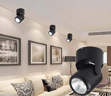 Proyector LED Luz de techo (ángulo de iluminación ajustable ...