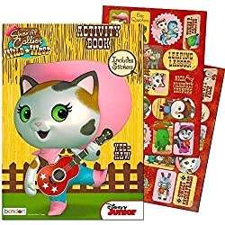 Disney Sheriff Callie Coloring & Activity Book With Stickers