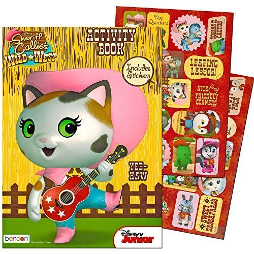 Disney Sheriff Callie Coloring and Activity Book with -
