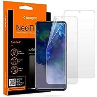 2pcs Spigen Screen Protector For Samsung Galaxy S20 Plus, Flexible Clear against scratches and fingerprints