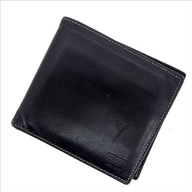 f887e0570dbd Amazon | コーチ COACH 二つ折り財布 ユニセックス 中古 G445 | COACH ...