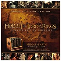Middle Earth: 6 Film Limited Collector's Edition (Blu-ray + DVD)
