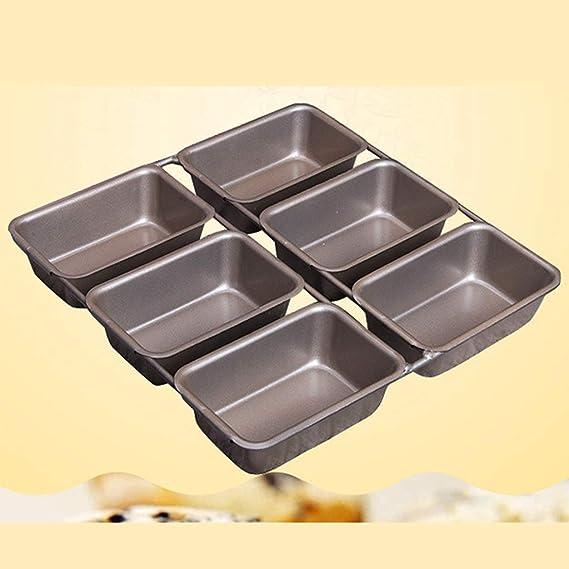 Backbayia 6 Mini-casseroles Panificadora sartenes para freír ...