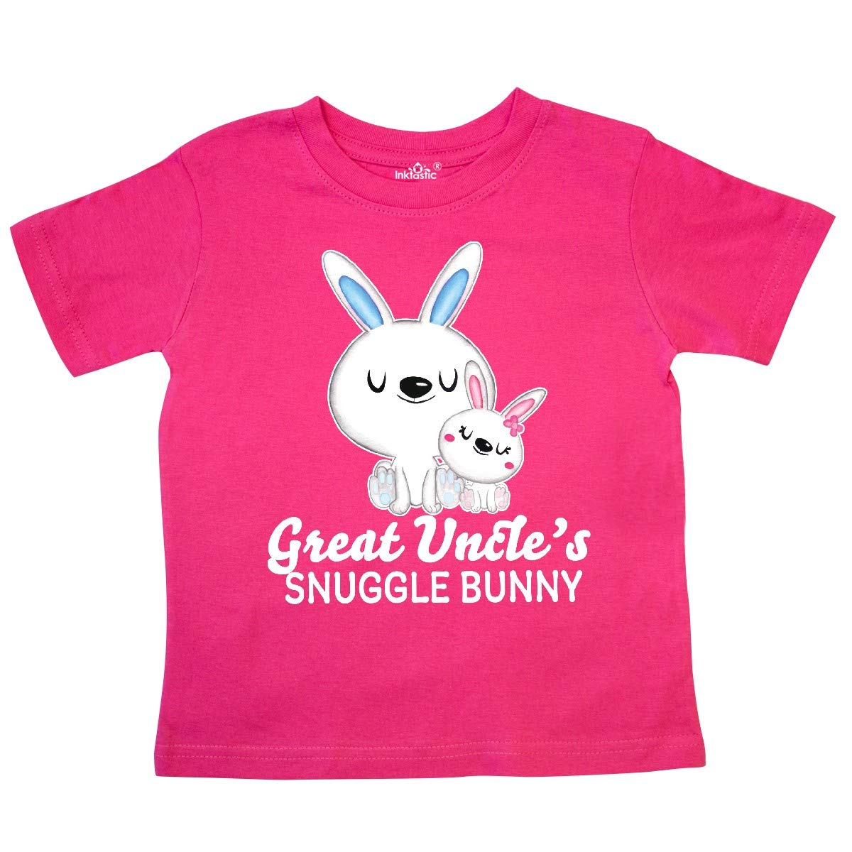 inktastic Great Uncles Snuggle Bunny Easter Toddler T-Shirt