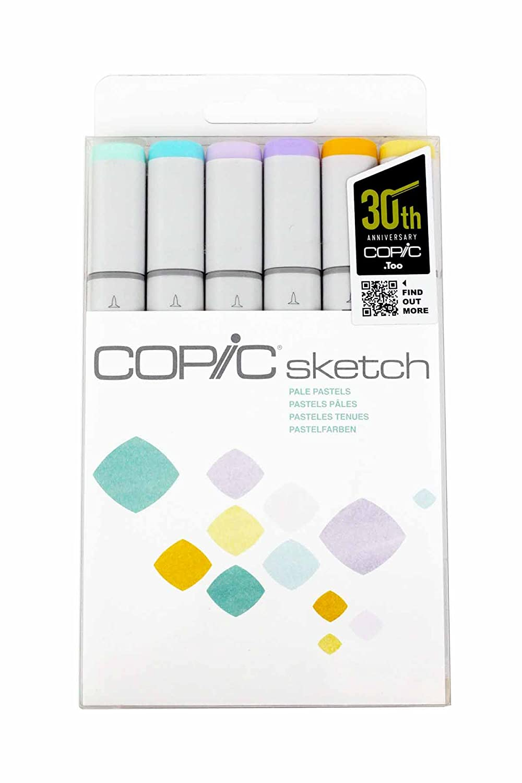 Skin Tones I Copic Markers 6-Piece Sketch Set