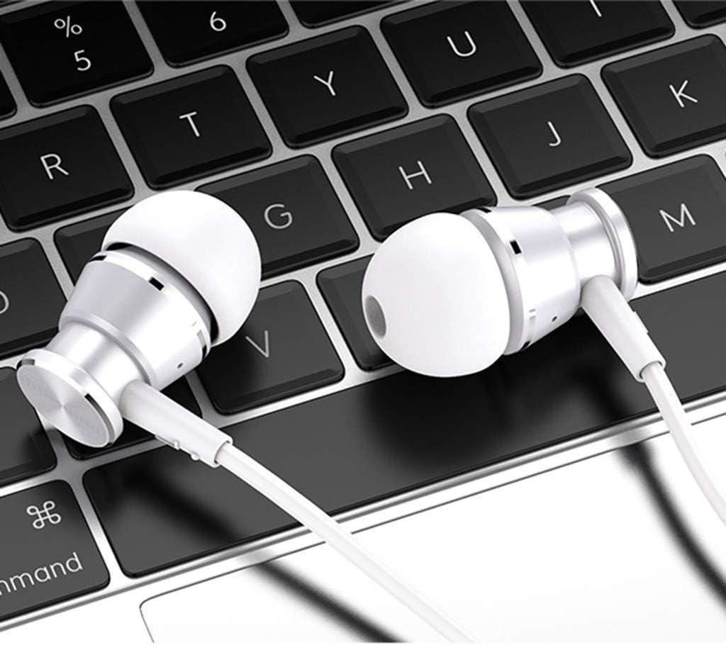 ZZZZ 2019 - Auriculares in-Ear con micrófono Universal para ...