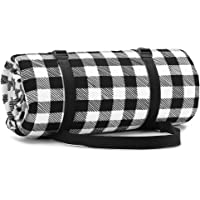 Simpeak Large Picnic Mat Pad Waterproof Mat, 2 Colors Plaid Premium Picnic Blanket Rug Outdoor Picnic Seat Cushion Mat…