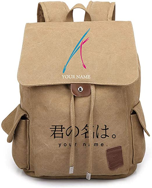 Cosstars Anime Cosplay Backpack Sac d/école Rucksack /Étudiant Sac /à Dos en Toile