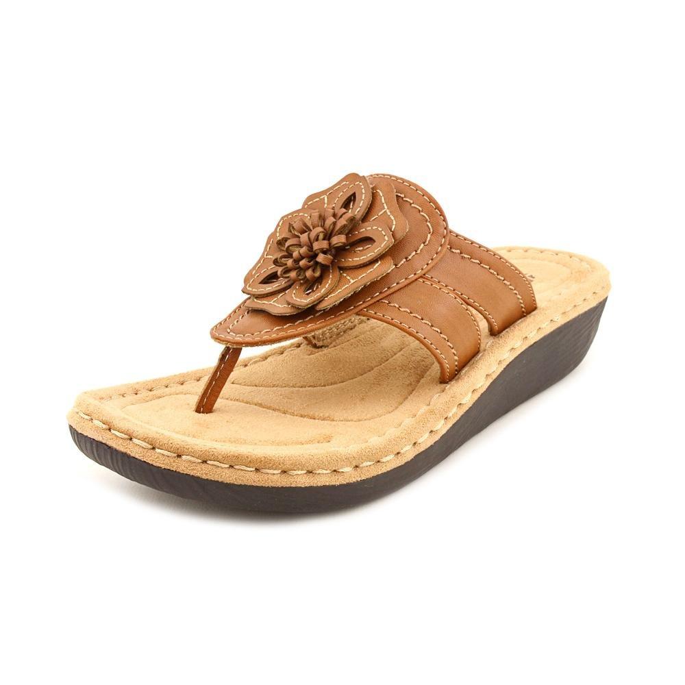 10f7e3fd9c4a Cliffs by White Mountain Women s Carnation Honey Sandal 9.5 B (M)   Amazon.ca  Shoes   Handbags