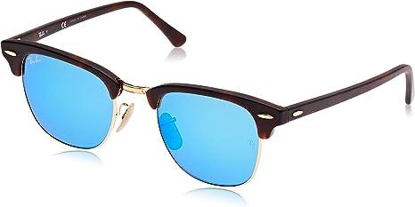 TALLA 49 milímetros. Ray-Ban Clubmaster Gafas de sol para Hombre