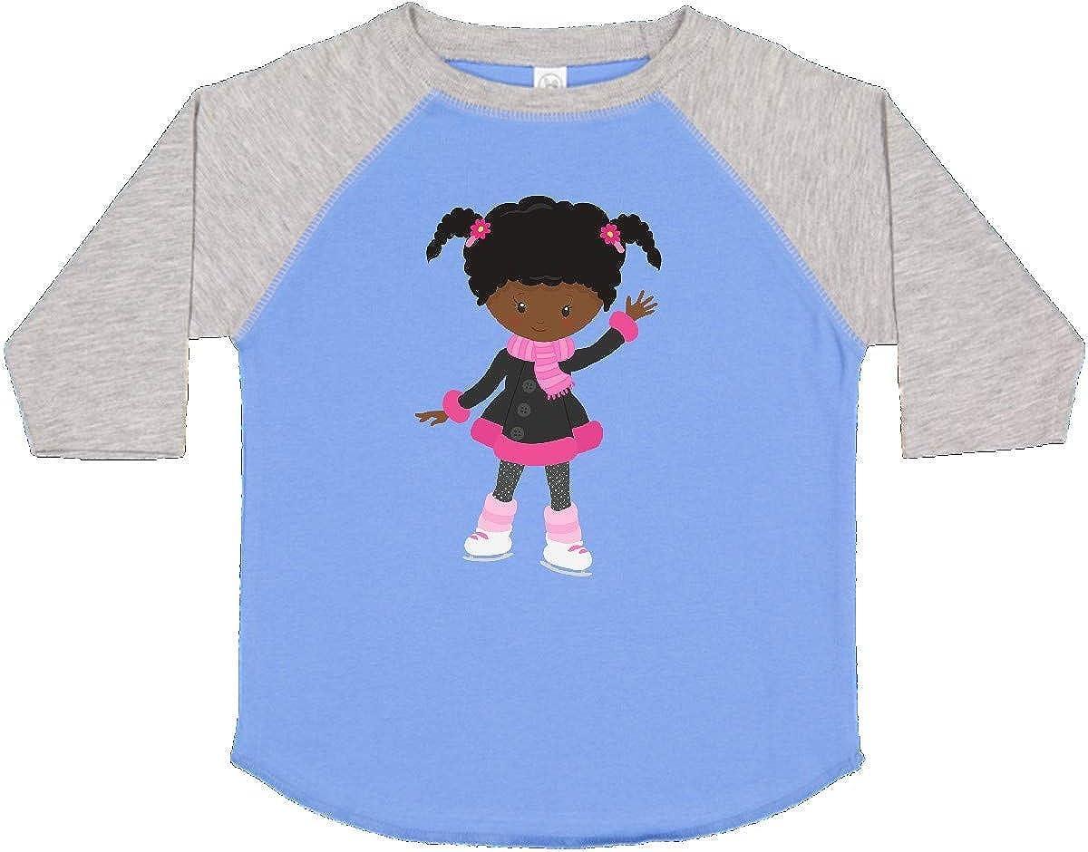 Ice Skating Girl inktastic African American Girl Cute Girl Toddler T-Shirt