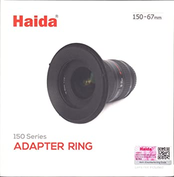 Haida M10 Filter Holder System with 67mm Adapter Ring for 100mm Series Filters