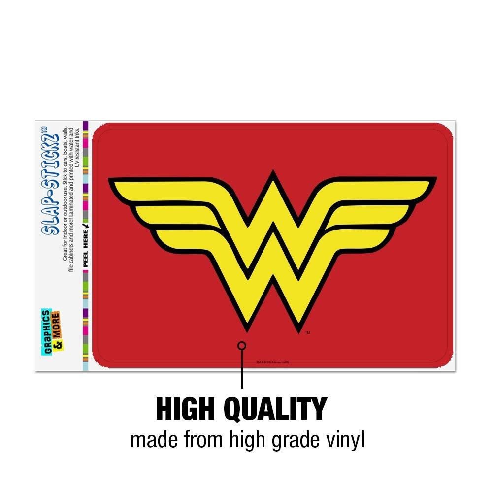 GRAPHICS /& MORE Wonder Woman Classic Logo Home Business Office Sign