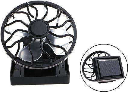 Youlin - Mini Ventilador portátil, energía Solar, con Pinza para ...